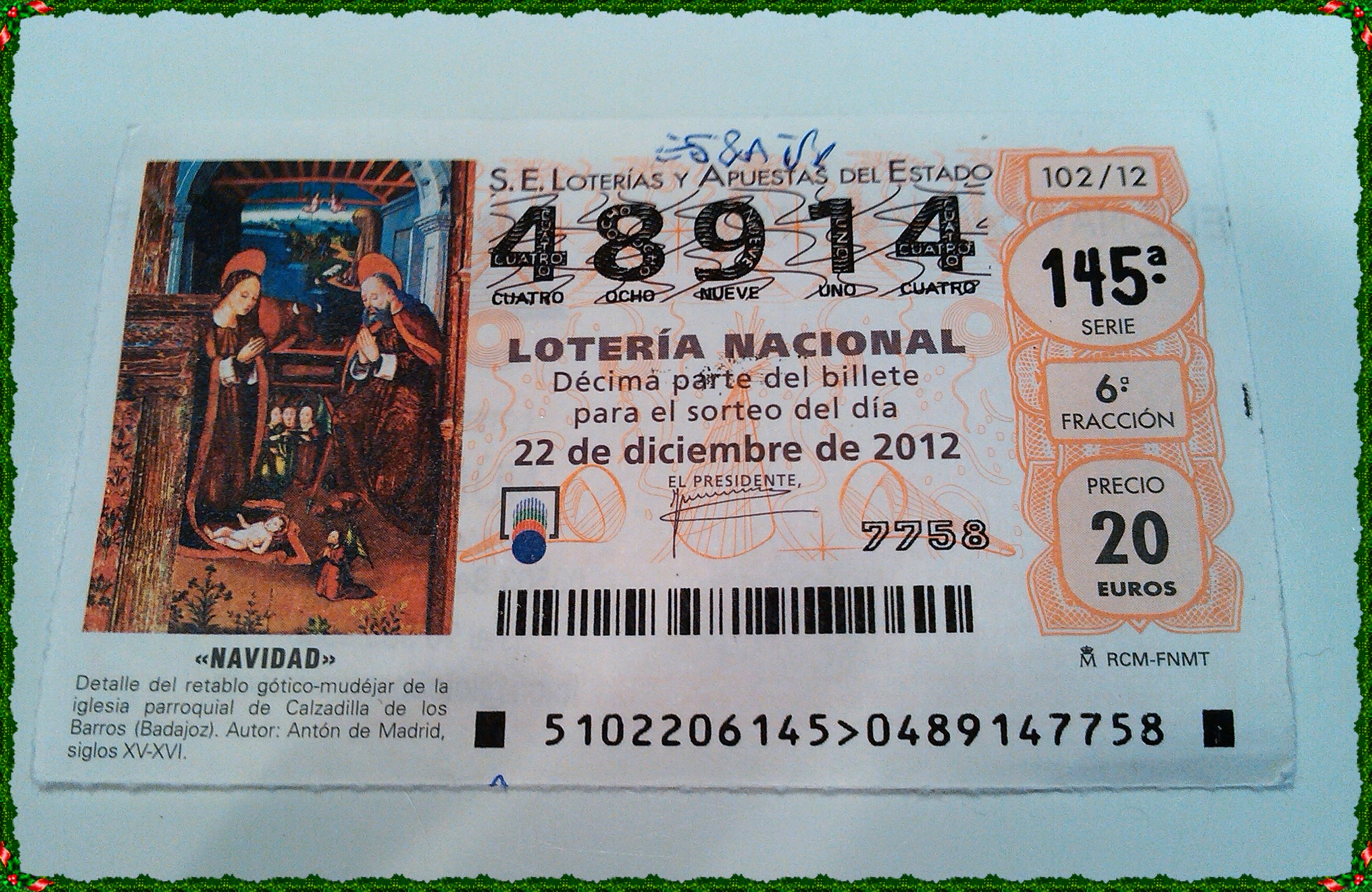 Spanish-Lottery-Ticket