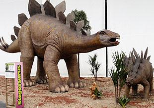 dinosaur park exhibition in Torremolinos
