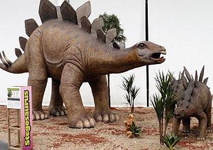 exhibición de dinosaurios en Torremolinos