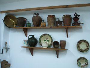 Utensilios en el Museo de Artes Populares Tolox