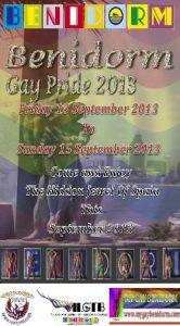 Tercer año Orgullo Gay Benidorm