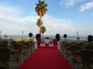 Wedding decoration Hotel Pez Espada