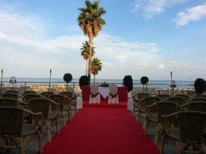 Wedding decoration Hotel Pez Espada