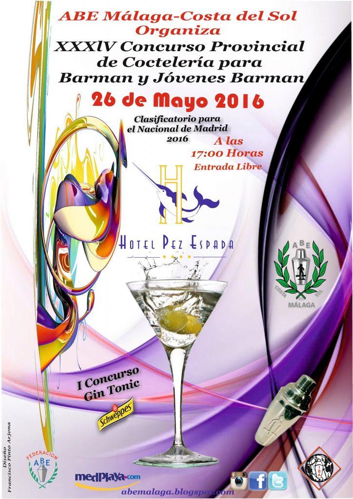 Cartel del XXXIV Provincial de Málaga