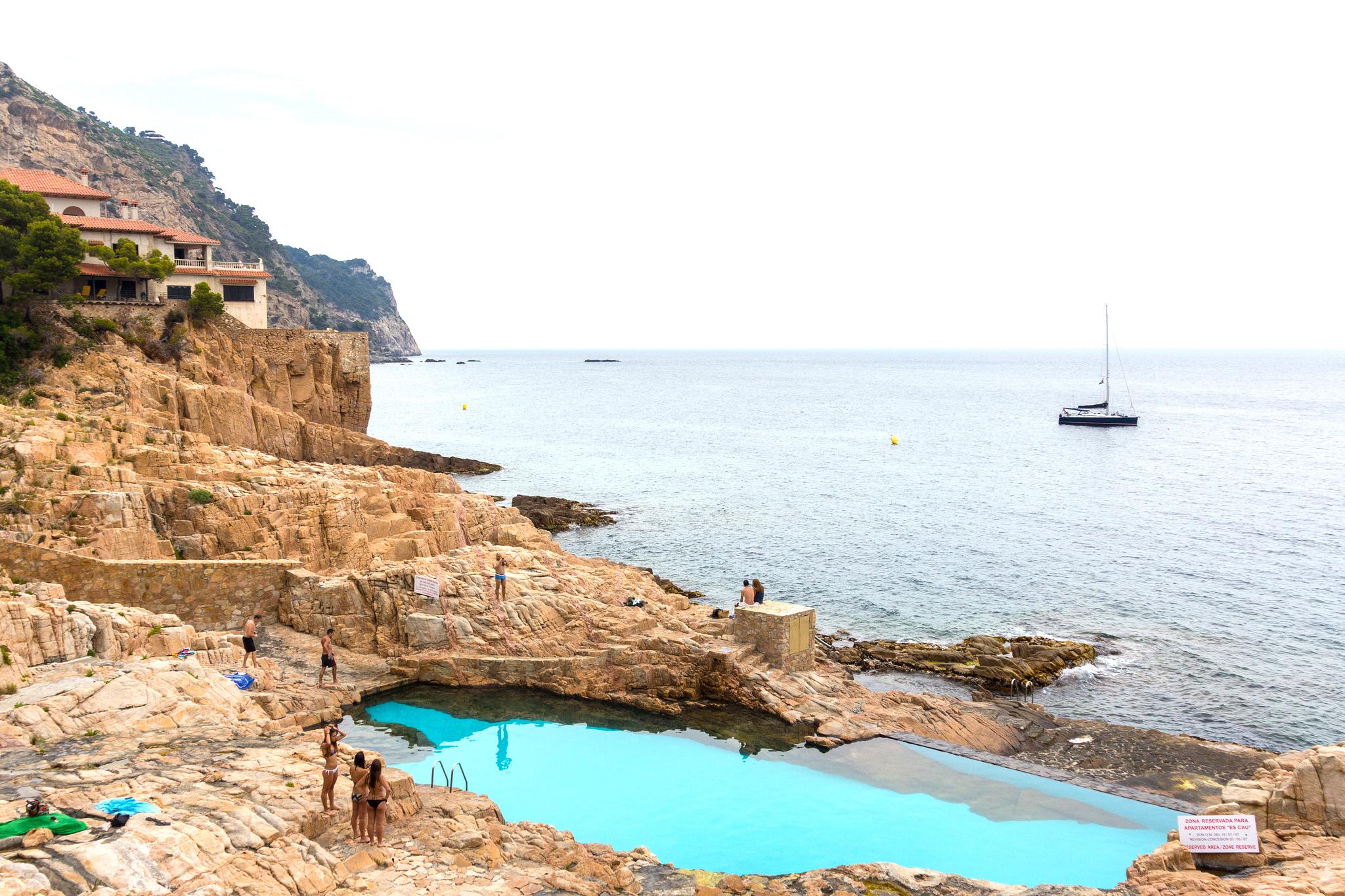 10 amazing pictures of the costa brava for Piscinas naturales begur