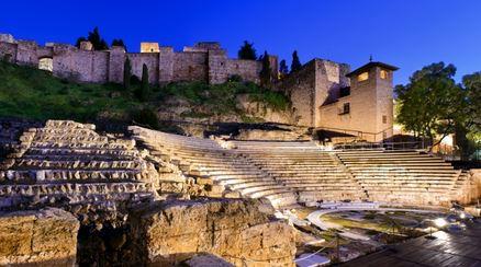 El primer teatro romano de Málaga