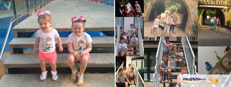 Los mejores recuerdos de MedPlaya 50: con los niños