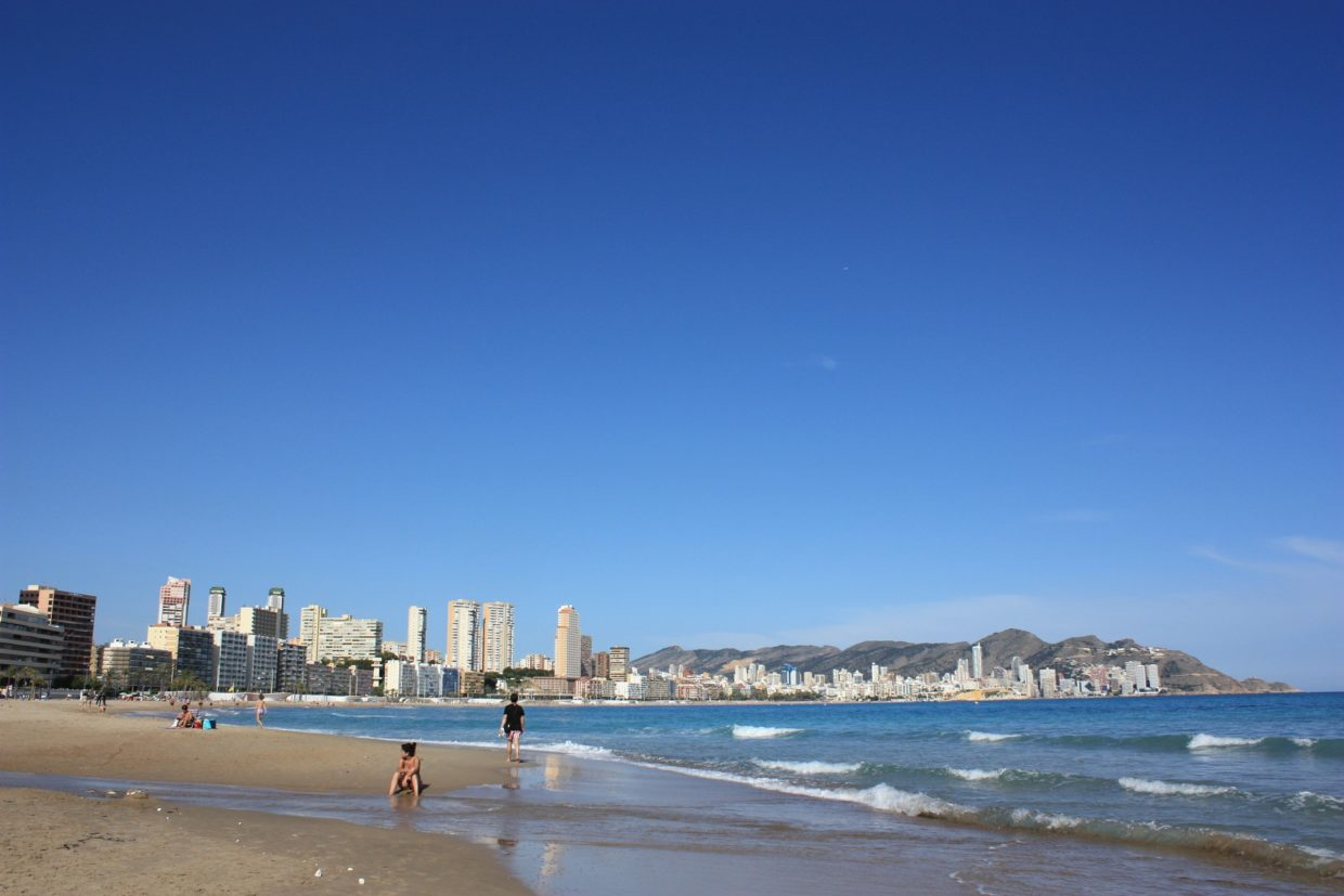 Summer activities in Benidorm
