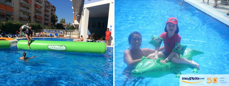 Los mejores recuerdos de MedPlaya 50: diversión en la piscina