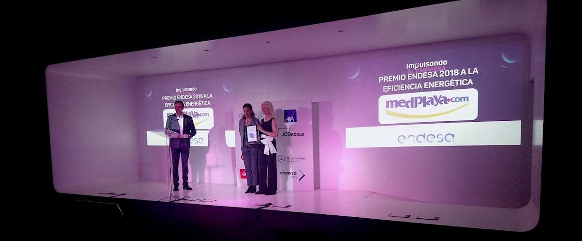Med Playa recibe un premio a la eficiencia energética