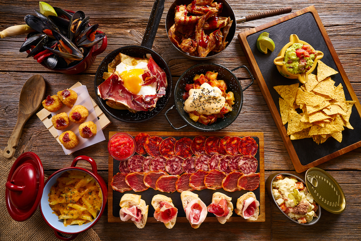 5 of the tapas that have given us worldwide fame