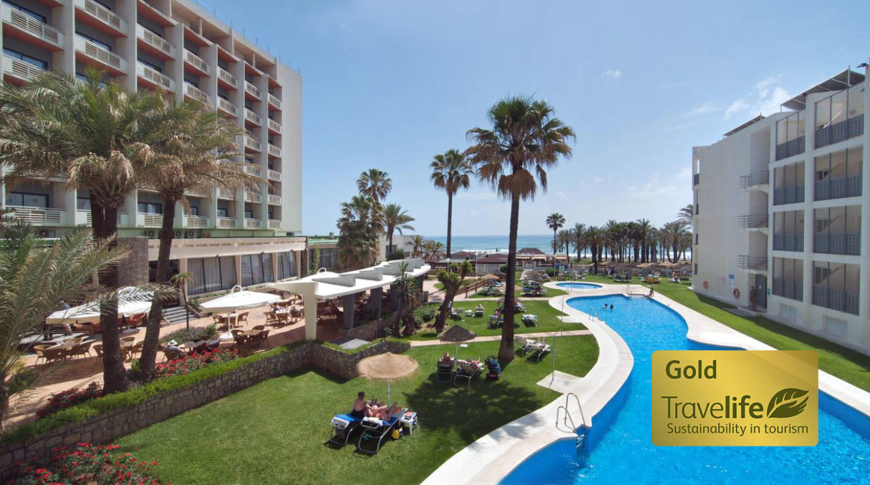 The four Medplaya hotels on the Costa del Sol obtain the Travelife GOLD certificate