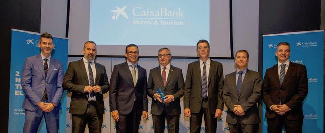 MedPlaya gana el premio Hoteles & Tourism de CaixaBank que reconoce la innovación de las empresas turísticas