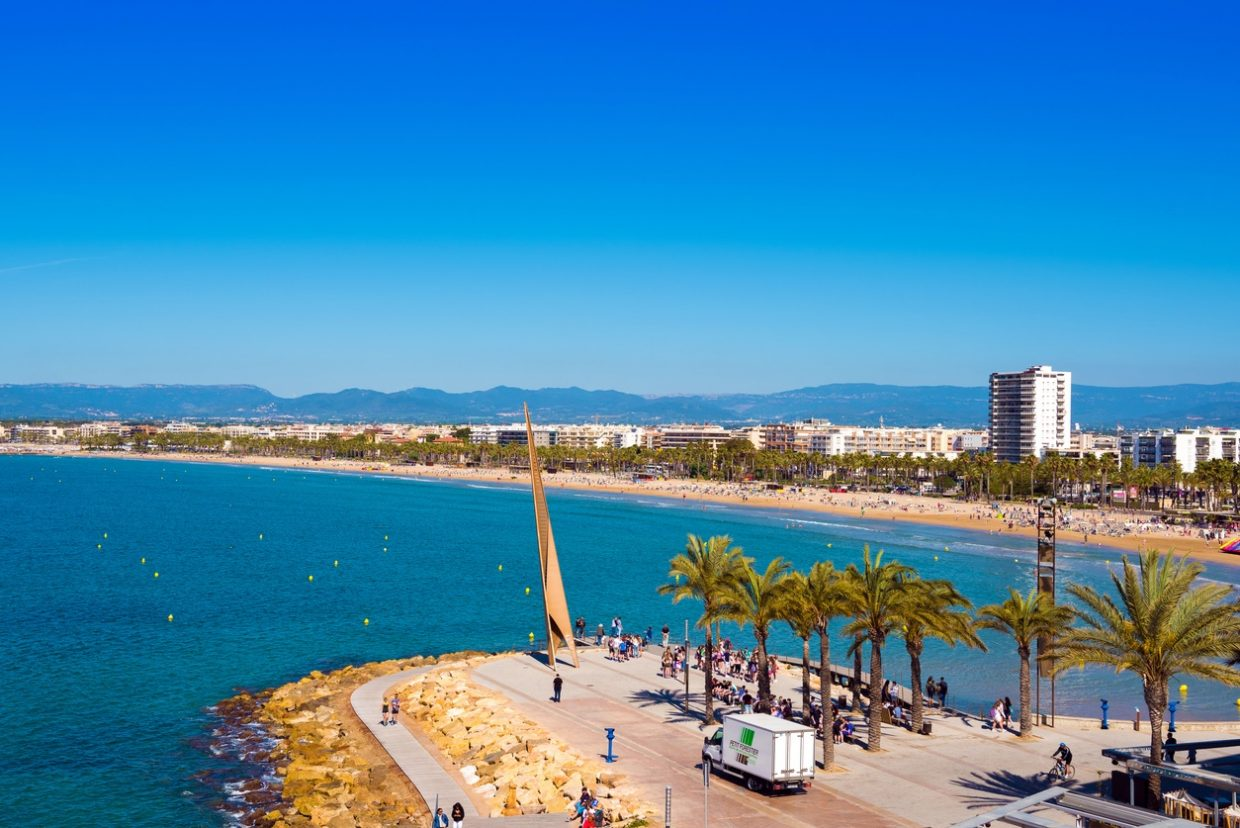 Nightlife in Salou can also be for families