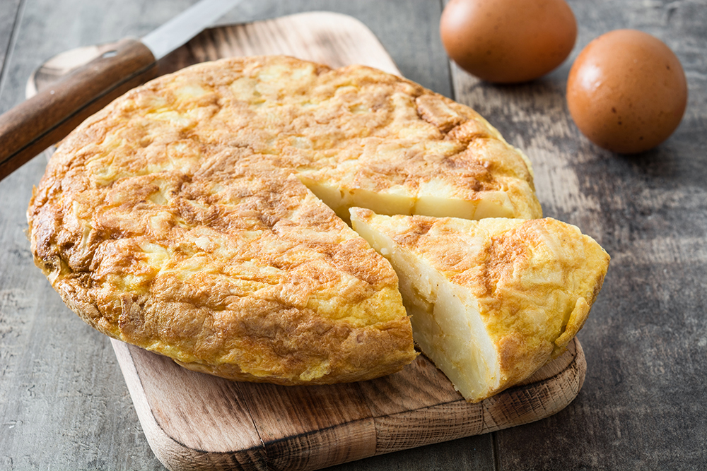 How to prepare an authentic Spanish omelette