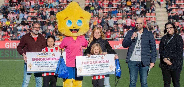Meddy se pone de portero en la media parte del Girona FC – Albacete