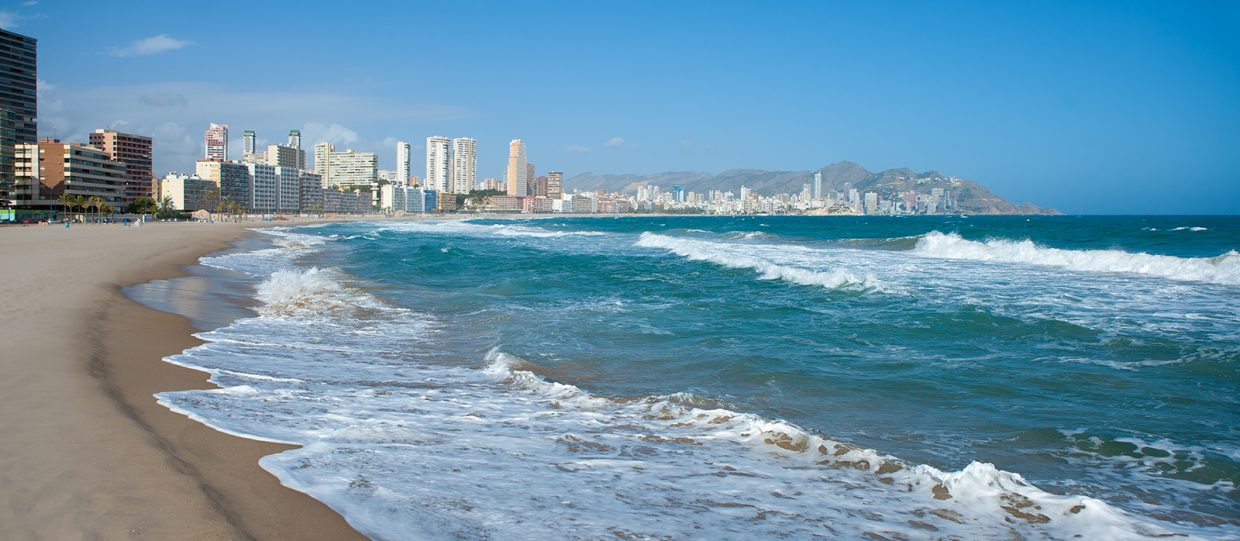 The 5 best beaches in Benidorm